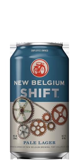 Mew Belgium shift pale lager
