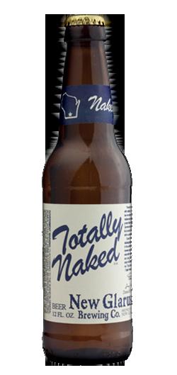 New Glarus totally naked lager