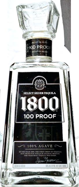 1800 100 proof