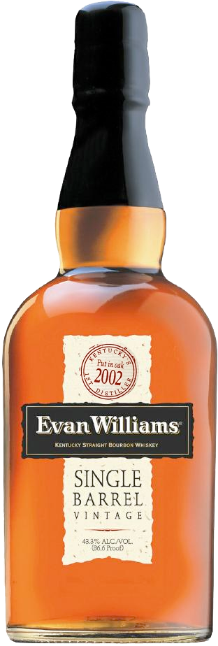 evan williams single barrel vintage 2002