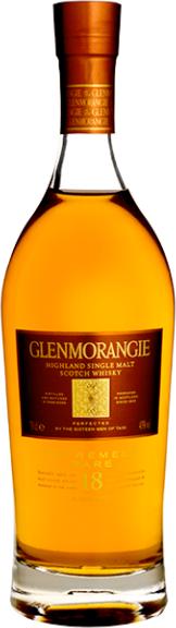glen morangie 18 year extremely rare highland single malt scotch