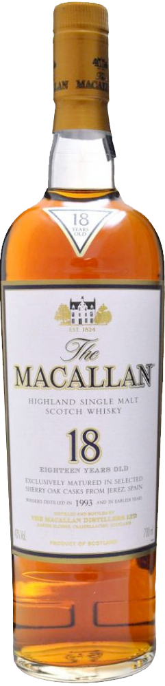 the macallan 18 years old