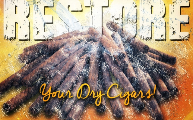 What's the best method for restoring dry cigars?