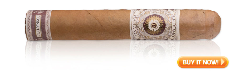 Perdomo habano connecticut wrapper cigars