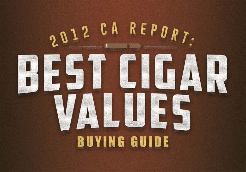 best cigar value 2012 buyers guide