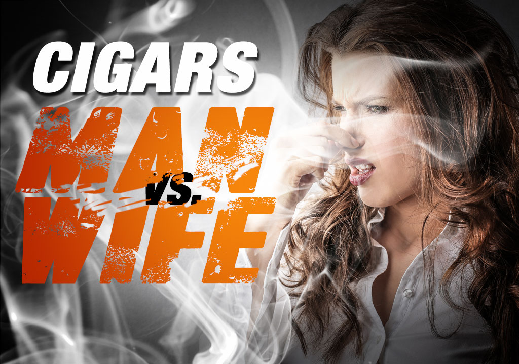 Cigars: Man vs. Wife
