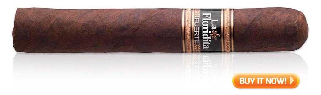 LA FLORIDITA FUERTE ROBUSTO - 5 X 50 sleeper cigars