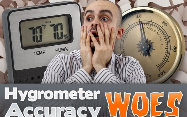 Cigar Q&A: Hygrometer Accuracy