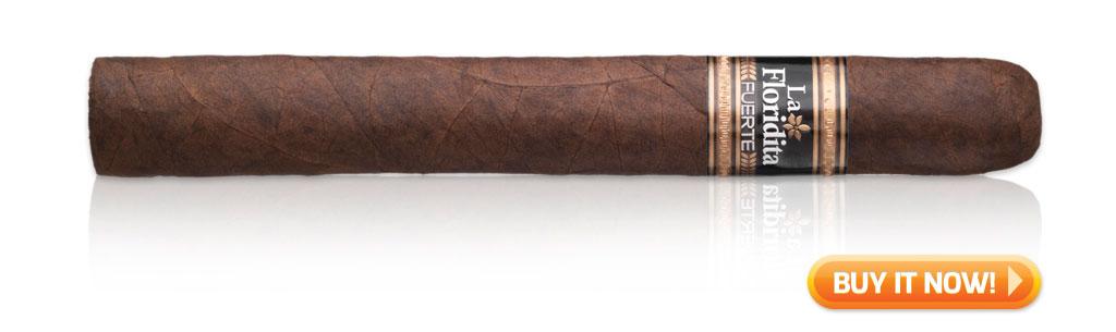 La Floridita Fuerte cigars on sale cigar wrapper