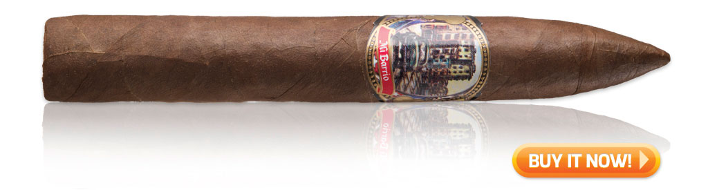 Mi Barrio torpedo cigar on sale