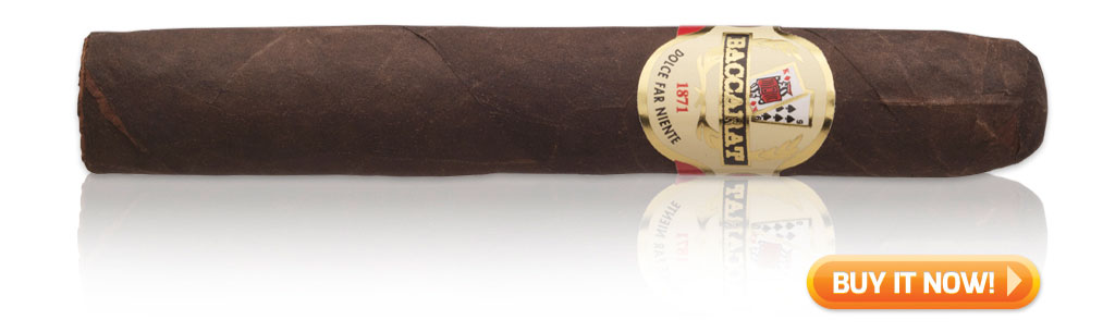 Baccarat Maduro cigars on sale