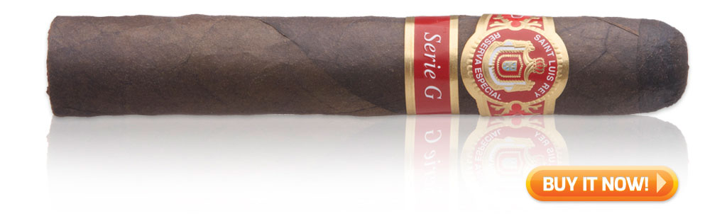 Saint Luis Rey Serie G maduro cigars on sale
