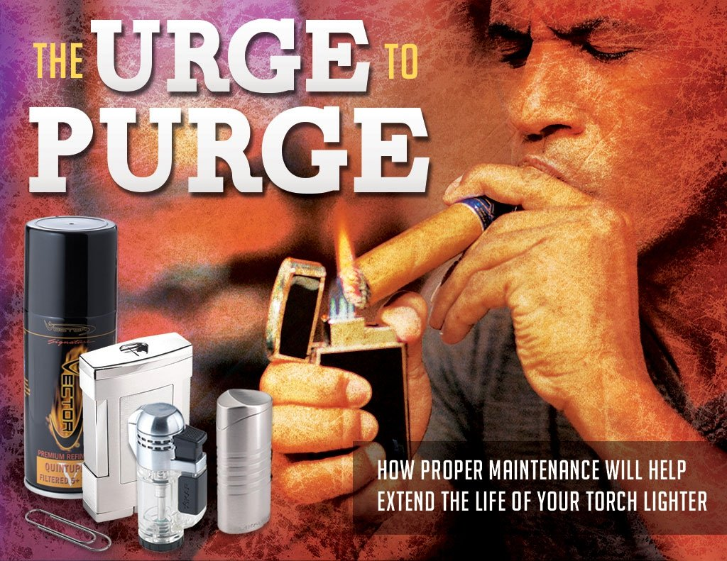 The Urge to Purge: How to Purge a Lighter