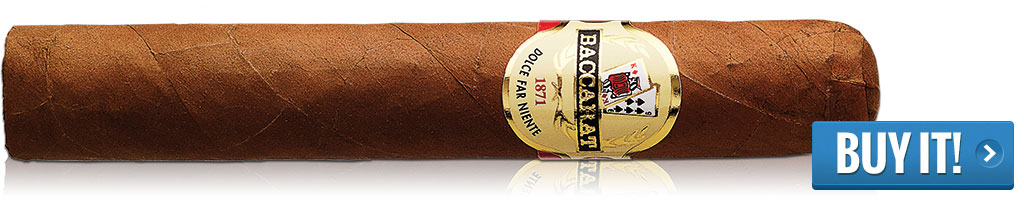 baccarat cigars for sale