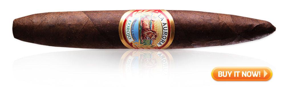 La Aurora preferidos corojo puro cigars