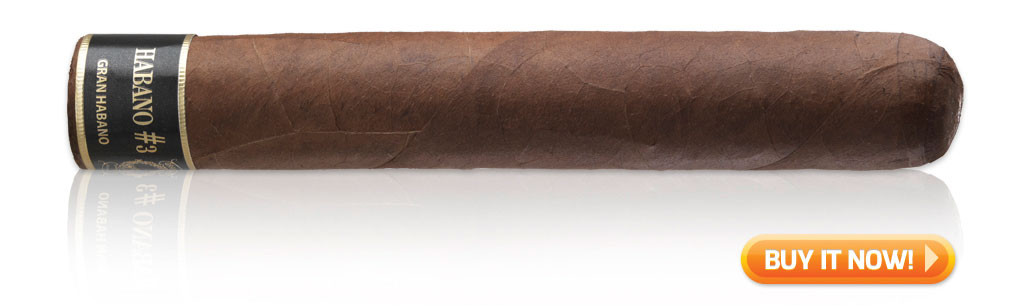 Gran Habano #3 cigars on sale cigar wrapper