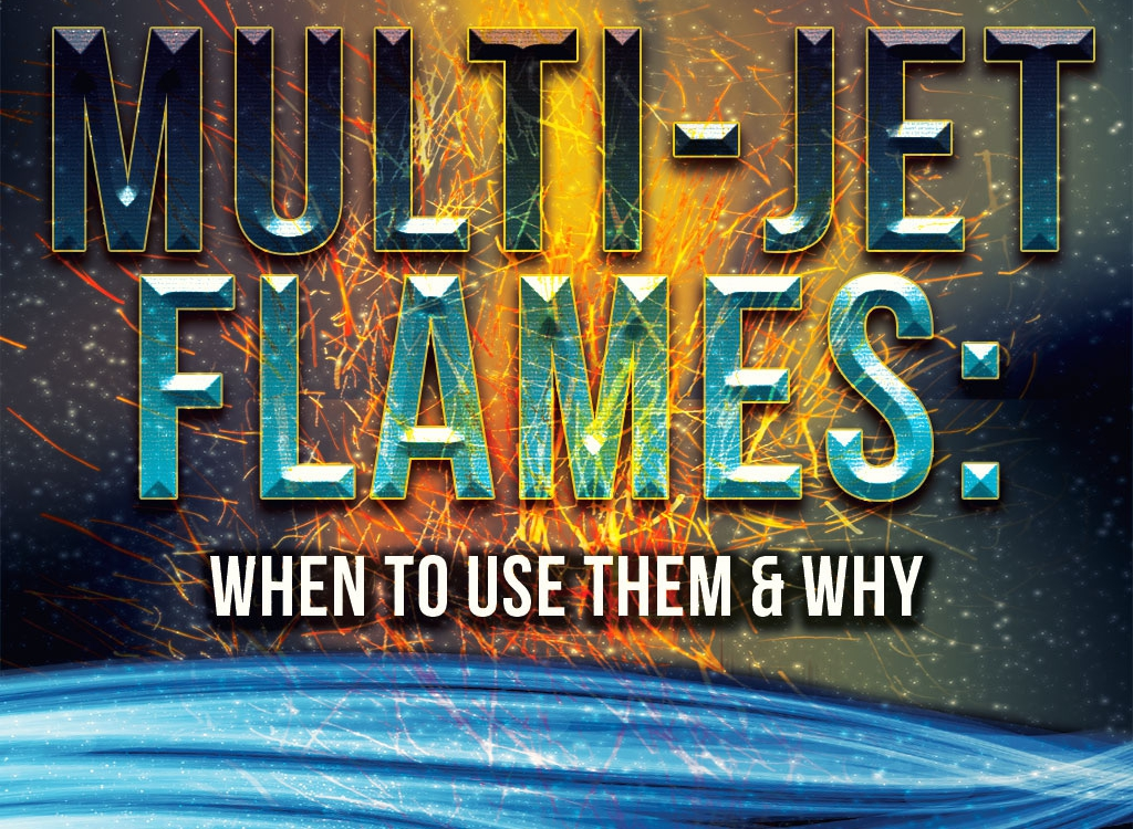 Multi-Jet Flames: When to Use Them and Why
