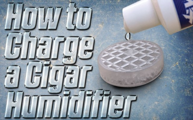 How to Charge a Cigar Humidifier