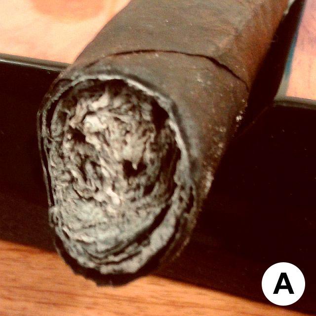 poor cigar construction