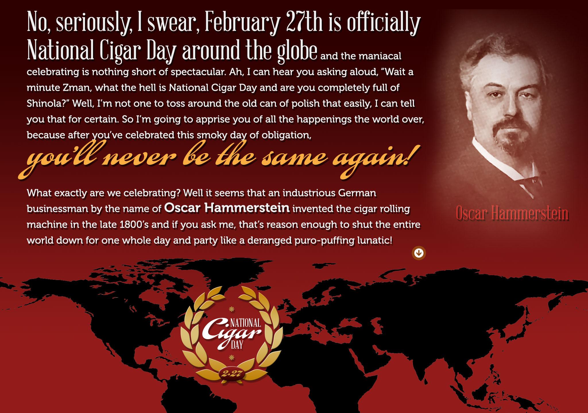 National Cigar Day History