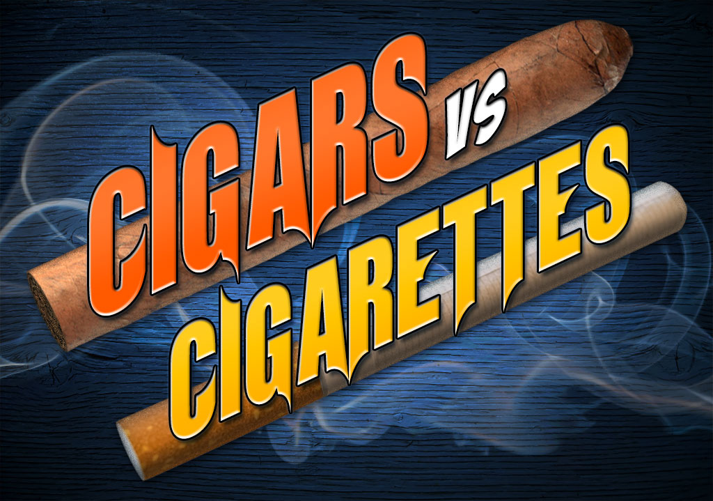 Cigars vs. Cigarettes