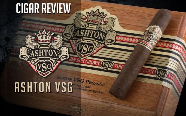 Ashton VSG Cigar Review