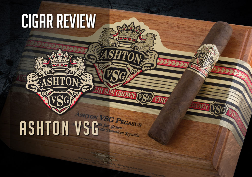 CACover Ashton VSG cigar review