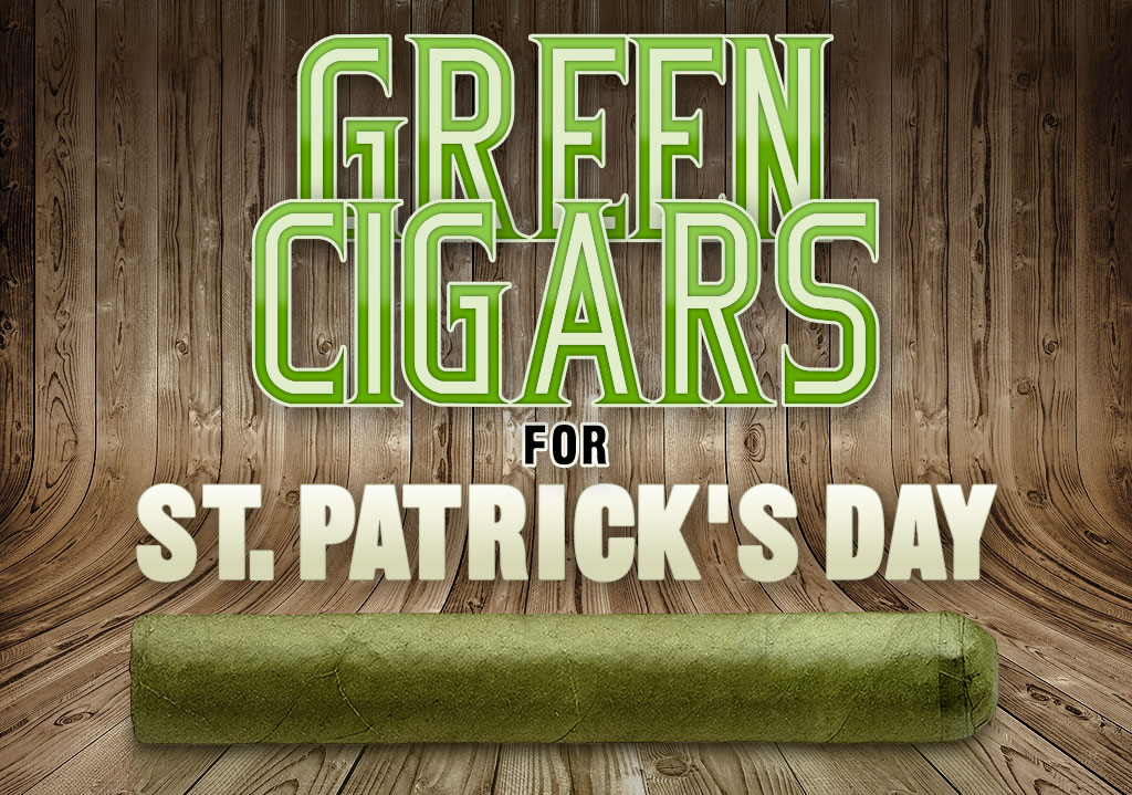 Green Cigars St. Patrick's Day