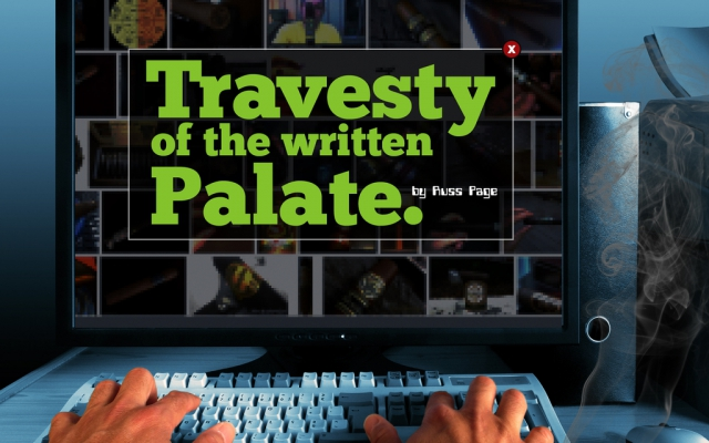 Travesty of the Written Palate