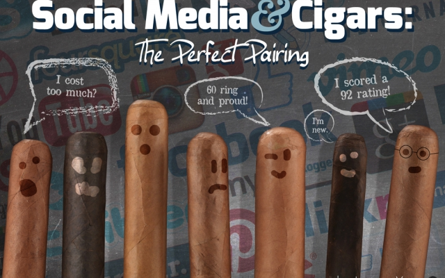 Social Media & Cigars: The Perfect Pairing