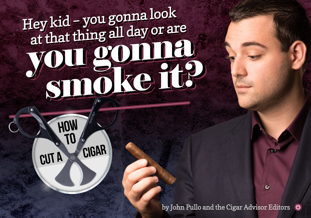 Cutting 101: How to Cut a Cigar