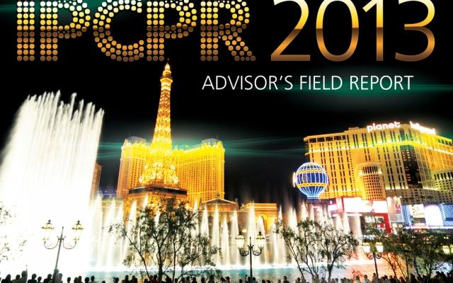IPCPR 2013 Advisor's Field Report