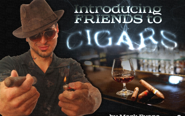 Introducing Friends To Cigars