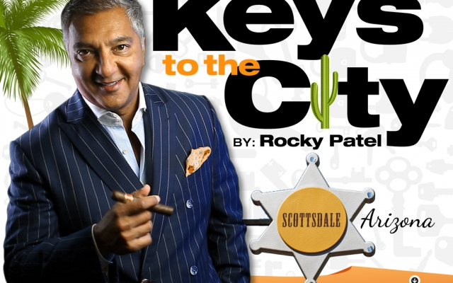 Keys to the City Scottsdale Arizona-Rocky Patel Cigar Lounge