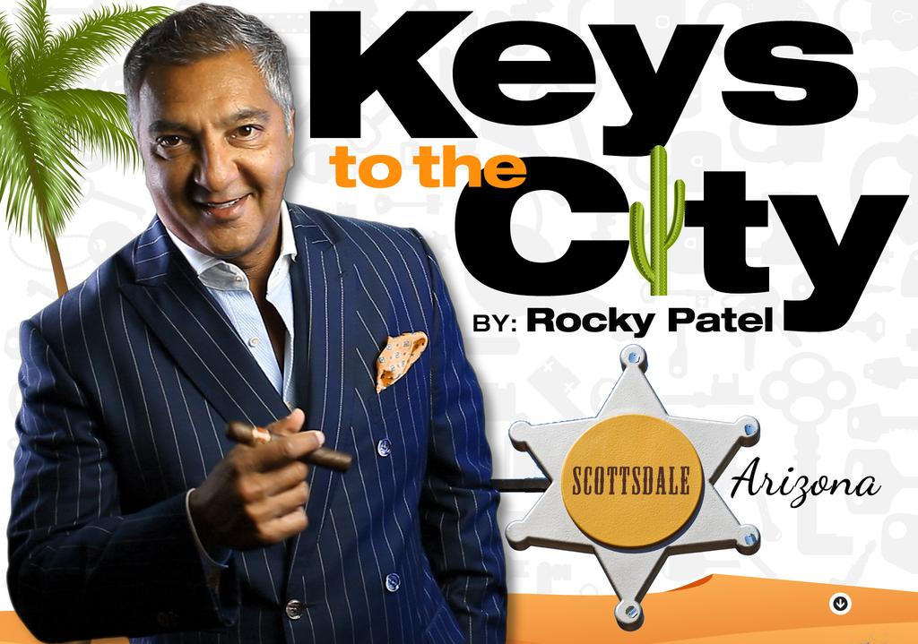 Keys to the City Scottsdale Arizona-Rocky Patel Cigar Lounge