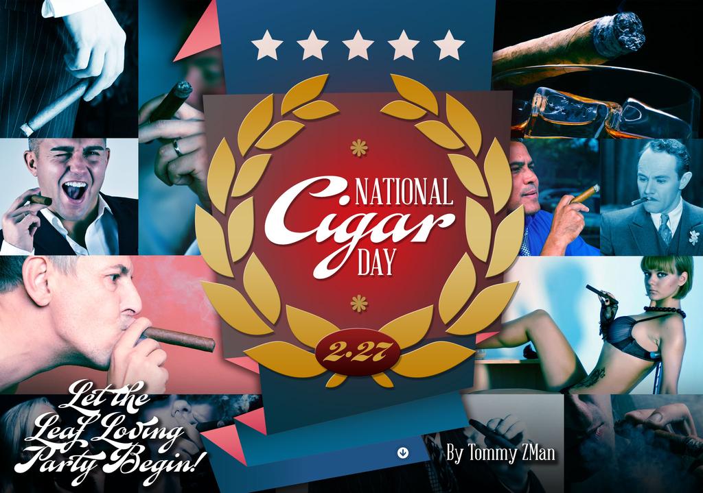 National Cigar Day – Let the Leaf Loving Party Begin!