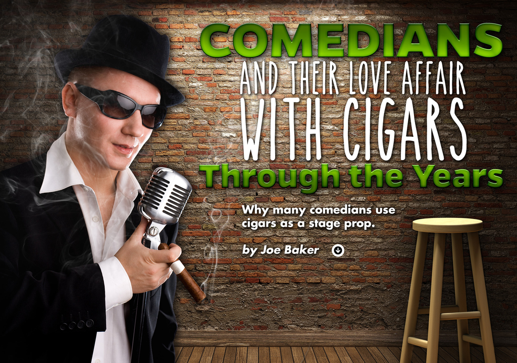 Comedians and Their Love Affair with Cigars Through the Years