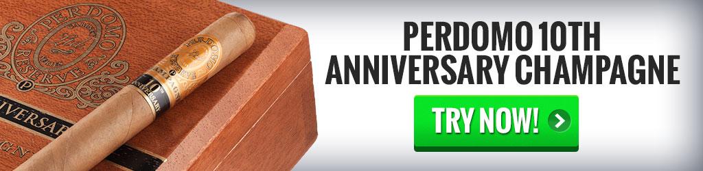 Perdomo 10th Anniversary Champagne