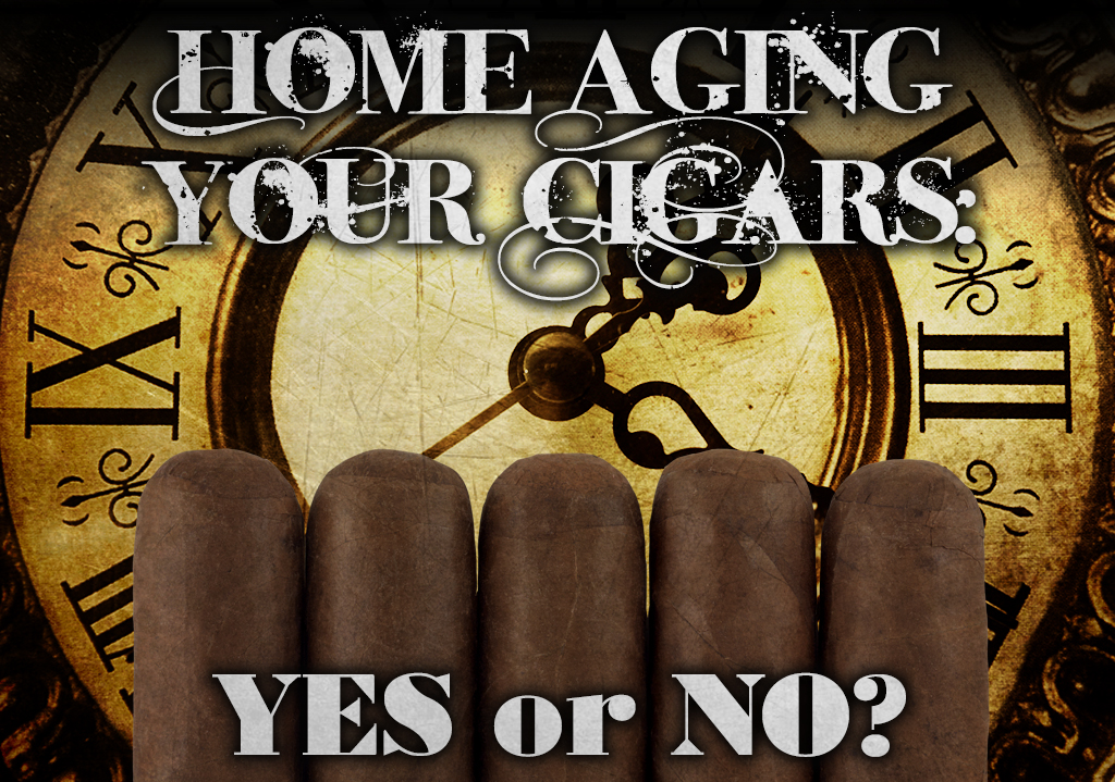 Home aging your cigars