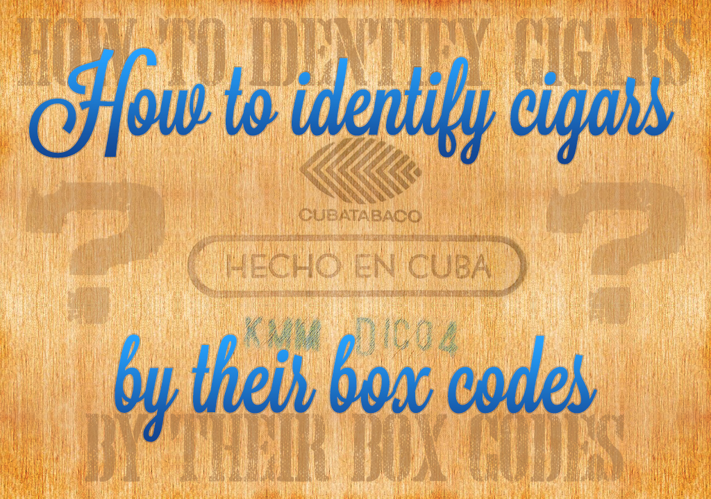 How to identify cigars by their box codes