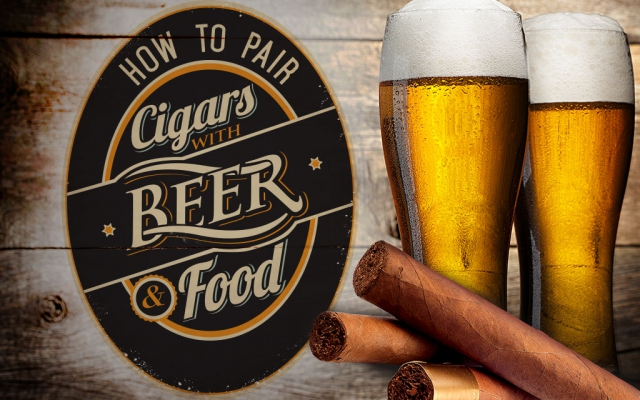 How to Pair Cigars with Beer & Food