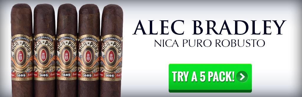 Alec Bradley Nica Puro 5 pack