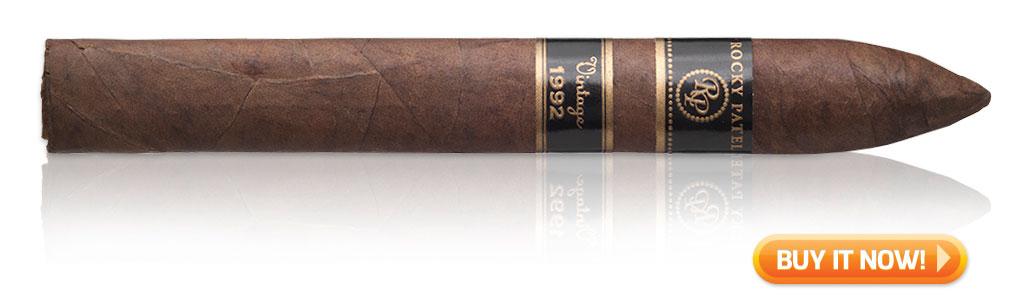 rocky patel vintage 1992 cigar torpedo