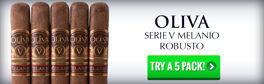 Oliva Serie V Melanio Robusto 5 pack