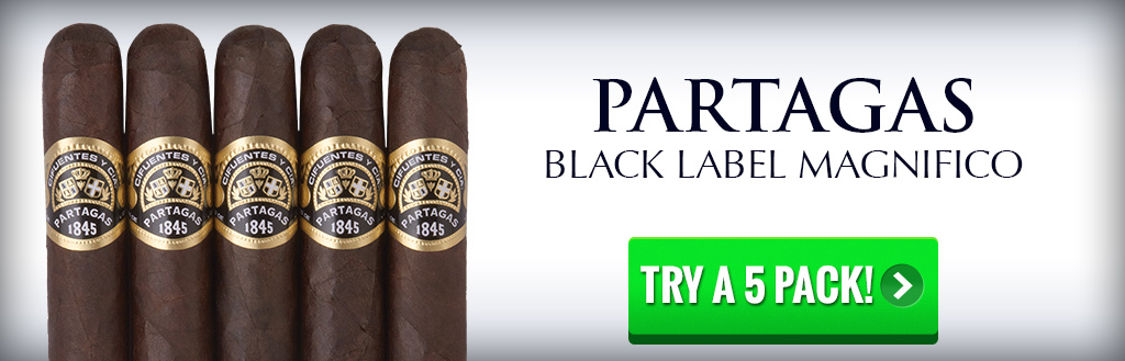 Partagas Black Label 5 pack