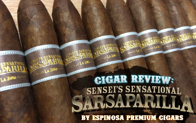 Sensei's Sensational Sarsaparilla Cigar Review
