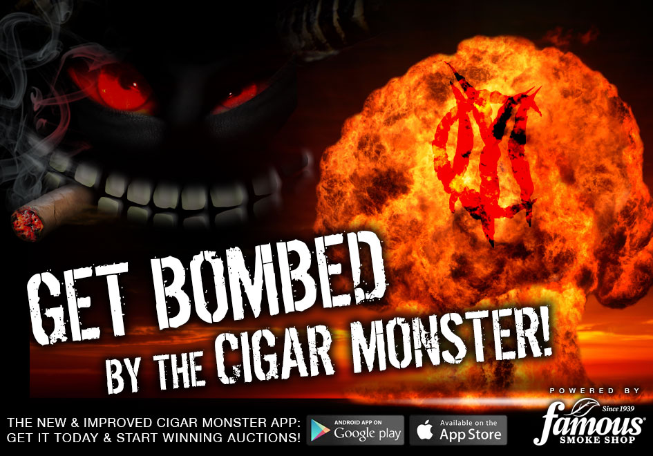 Get Bombed By The Cigar Monster!