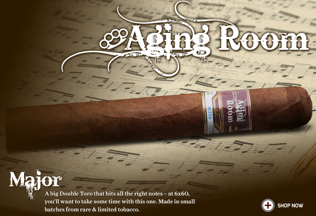 Aging Room Small Batch M356 Major Cigars