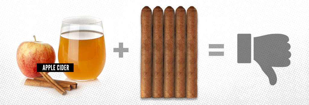 Apple Cider and Cigars Pairing