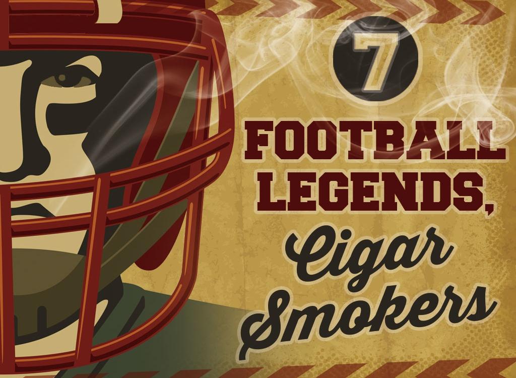 7 Cigar Smoking Football Players